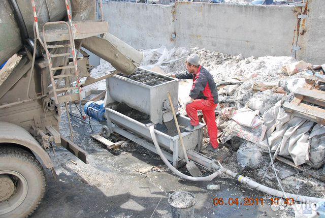 бетонный насос своими руками
