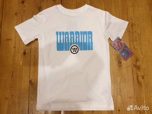 89036020550 Хоккейная футболка Warrior юниорская, р. Jr S