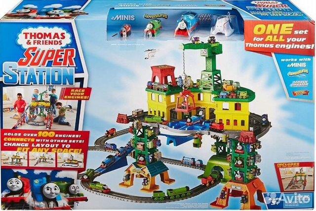 Железнодорожная станция fisher-price tomek FGR22 89062132153 купить 1