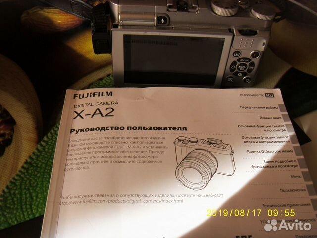 Фотоаппарат fujifilm x-A2  купить 3