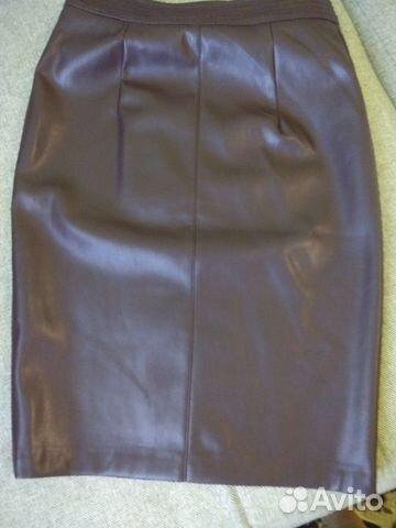 Юбка кожа искусственная новая  89617533149 купить 3