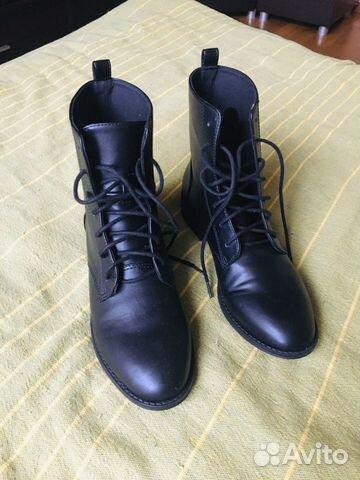 Ботинки 36 размер демисезонные