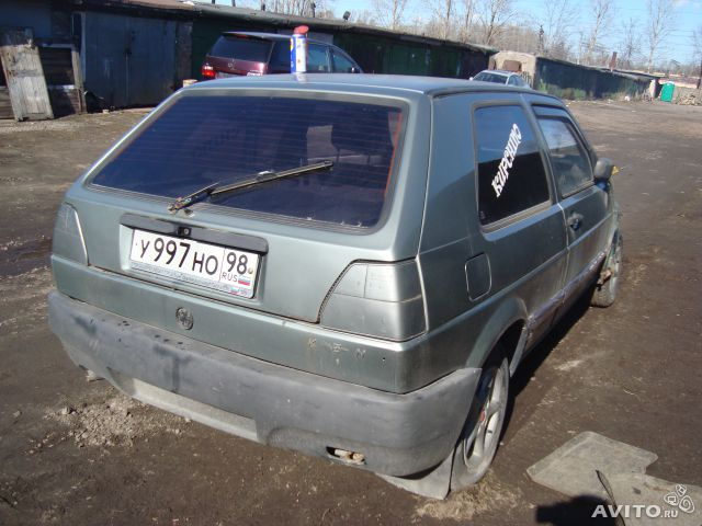 Разбираю vw golf 2 1.6 pn 2ee— фотография №1