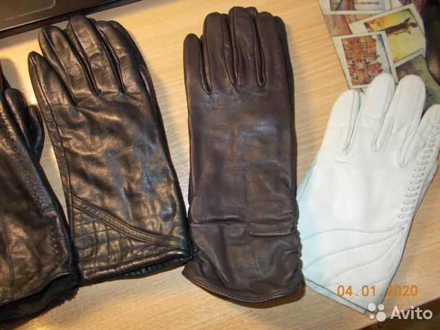 Перчатки кожаные  89052485517 купить 1