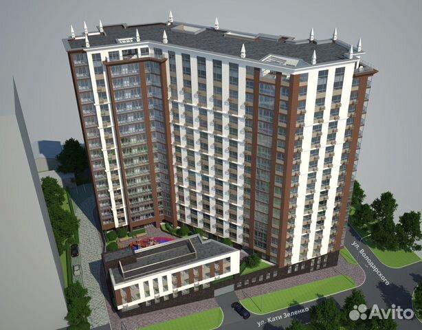 3-к квартира, 117.2 м², 4/19 эт.