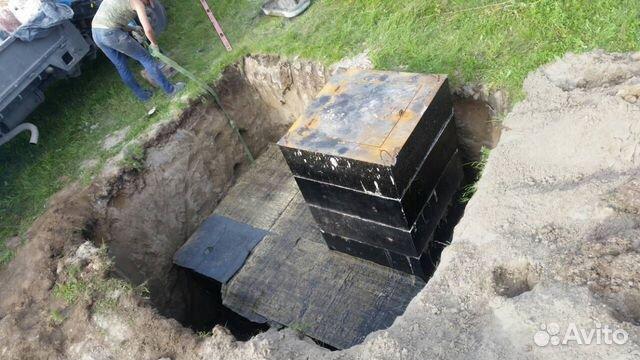 Погреб железобетонный под ключ