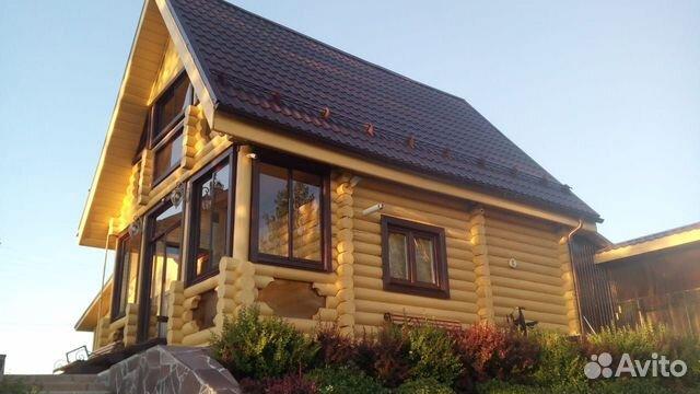 Дома из оцилиндрованного и рубленого бревна 89127347064 купить 1