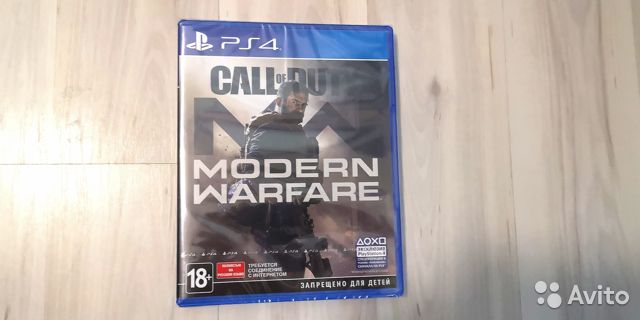 Call of Duty Modern Warfare 2019 для PS4 RUS