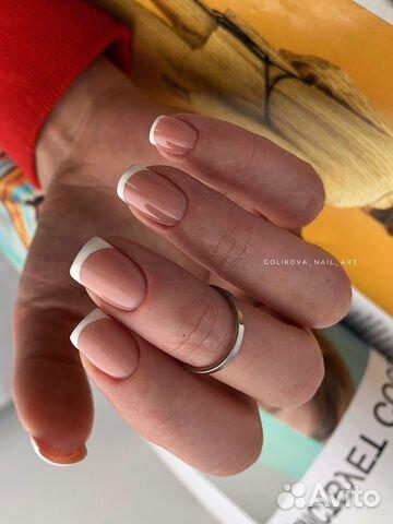Маникюр наращивание ногтей купить 3