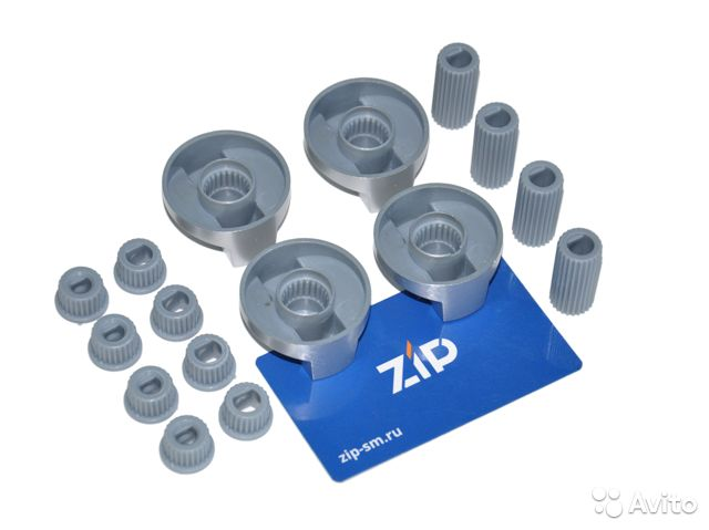 Ручки универсальные для плиты серебристые (комплек  89290812725 купить 2
