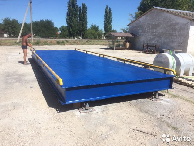 Truck scales 8 metres 40 tons 89063588900 buy 2
