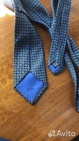 Шелковый галстук Hugo Boss оригинал  89062140028 купить 2