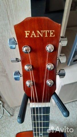 Гитара fante акустическая  89140532851 купить 2
