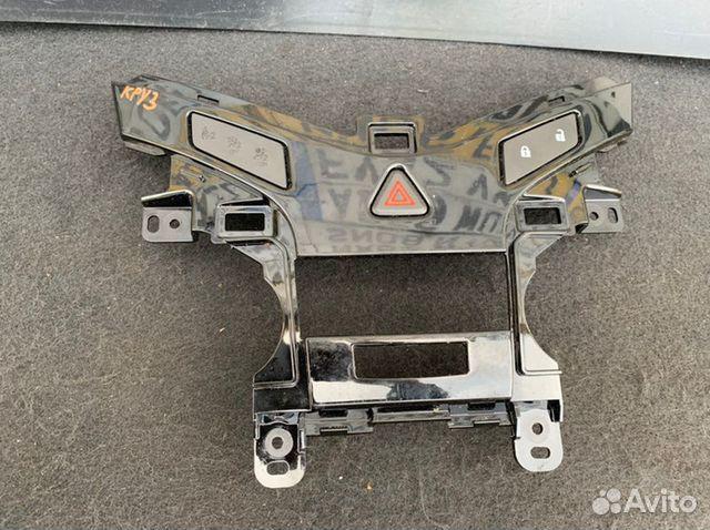 Рамка блока управления климатом передняя Chevrolet  89086364687 купить 2