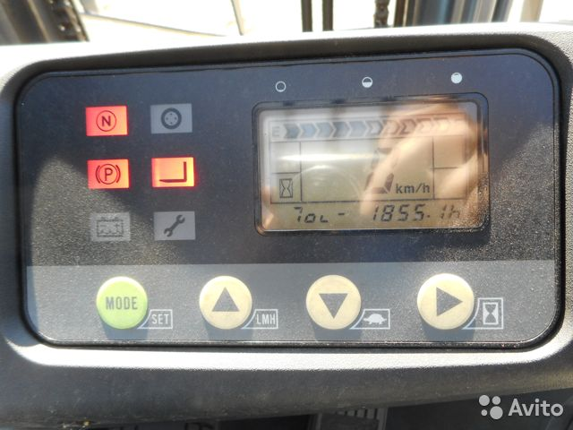 Вилочный электро погрузчик Коматсу 1,5 т  89139864541 купить 7