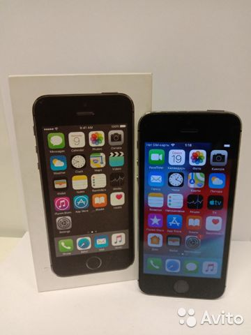Смартфон Apple iPhone 5 s  89044830240 купить 1
