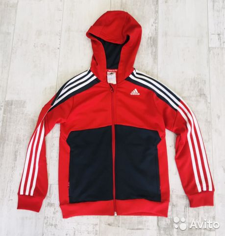 Джемпер, олимпийка детская рост 140 Adidas  89130970756 купить 1