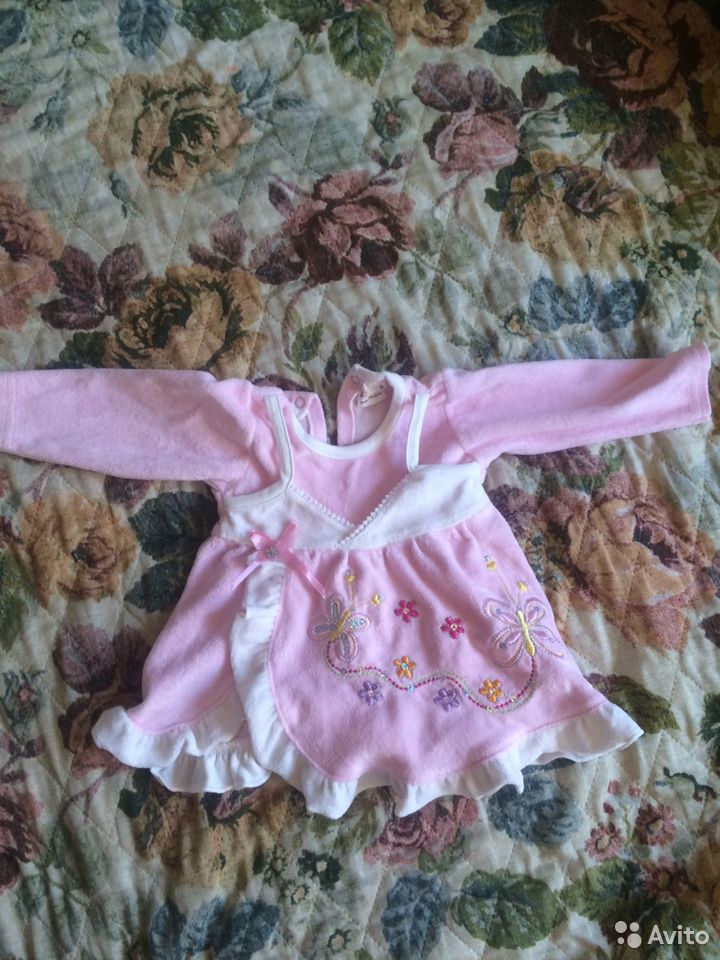 Комбинезон платье крестильный костюм, для выписки 89536188992 купить 3