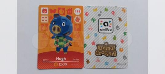 New Leaf: Welcome amiibo-карты (2 серия) 4U