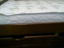 Кровать (Новая) +артопедический матрас+ наматрас