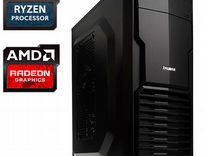 AMD Ryzen-3 2200G с 8GB DDR4 и GTX105Oти 4Gb gddr5