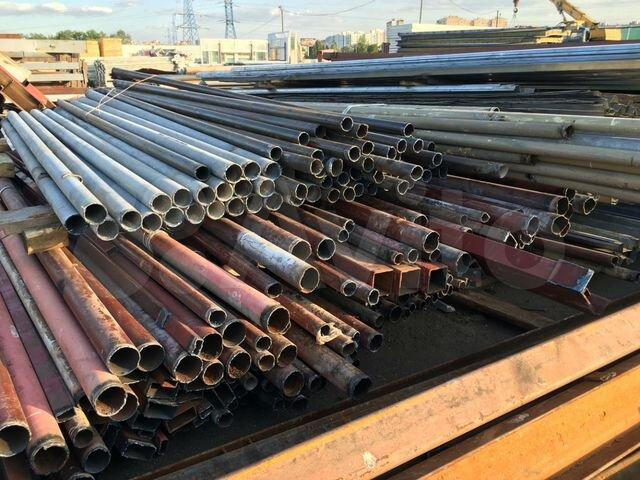 Трубы металлические бу