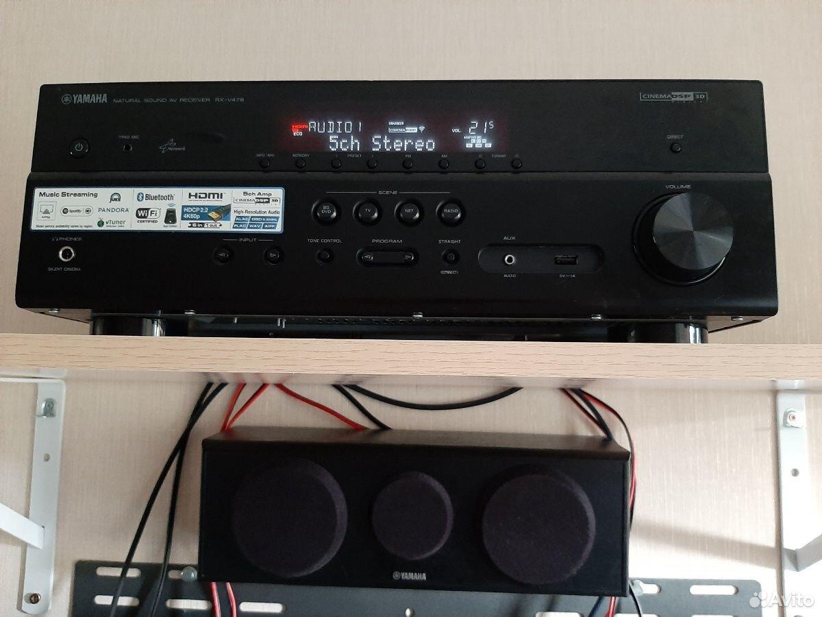 AV-ресивер Yamaha RX-V479  89199452580 купить 9