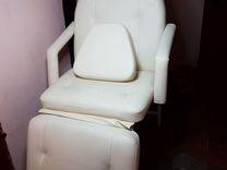 Стационарное кресло - кушетка. Массаж, наращивание