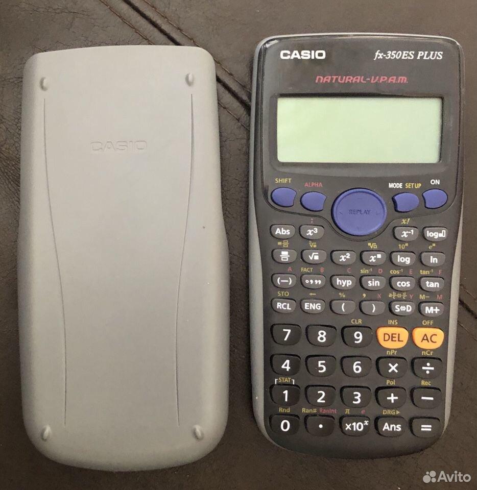 Калькулятор научный Casio fx-350 ES plus  89199200578 купить 2