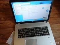 HP 17.3 8-потоков 3600мгц-Сore i7