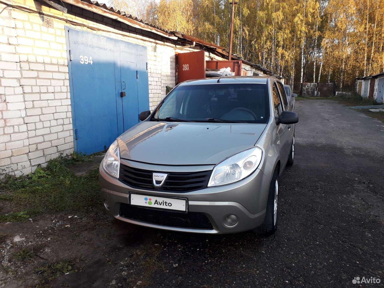 Renault Sandero, 2009  89600965960 купить 1