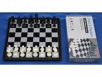 Шахматы,шашки, нарды 3 в 1 на магнитной доске новы