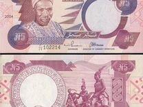 Нигерия 5 найра 1984-2005 г