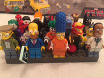 Lego Лего минифигурки Simpsons Marvel DC comics