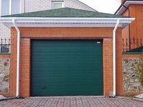 Железные ворота для гаража челябинск готовые проекты гаражей на 2