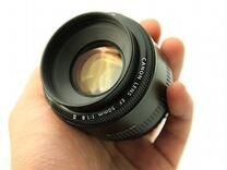 Объектив Canon EF 50mm f1.8 Б.У