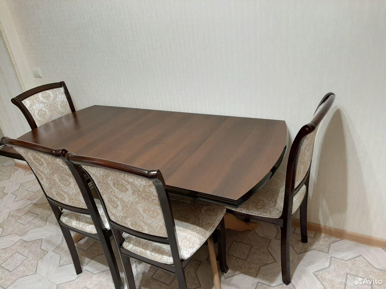 Стол и стулья  89188200306 купить 1
