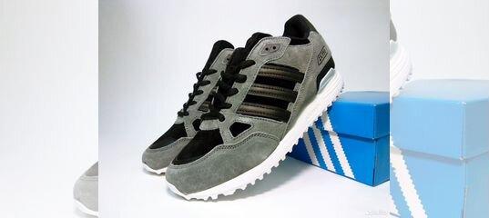 3fb9cbd7 Кроссовки Adidas ZX 750 мужские серые замшевые купить в Москве на Avito —  Объявления на сайте Авито