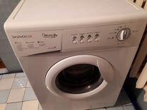 Продам стиральную машину daewoo airbubblee 6кг