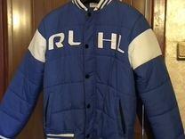 Куртка-бомбер хоккейная