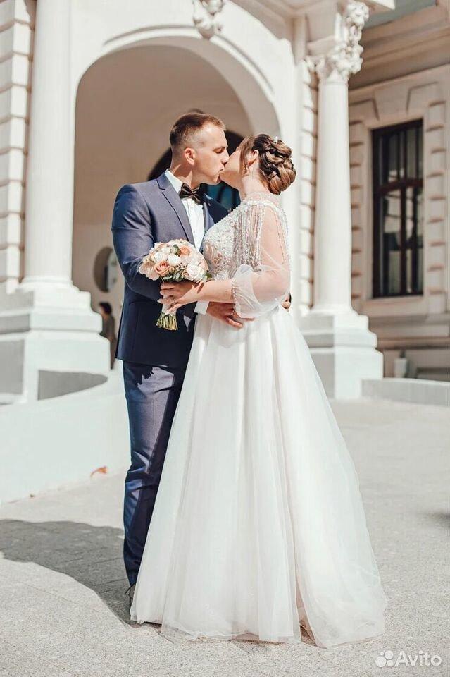 Платье свадебное 48-50 размер  89204772286 купить 2