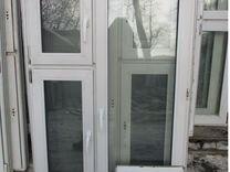 Окно Пластиковое 1430 (в) х 990 (ш) Б/У №38859
