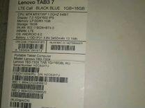 Планшет lenovo tab3 7