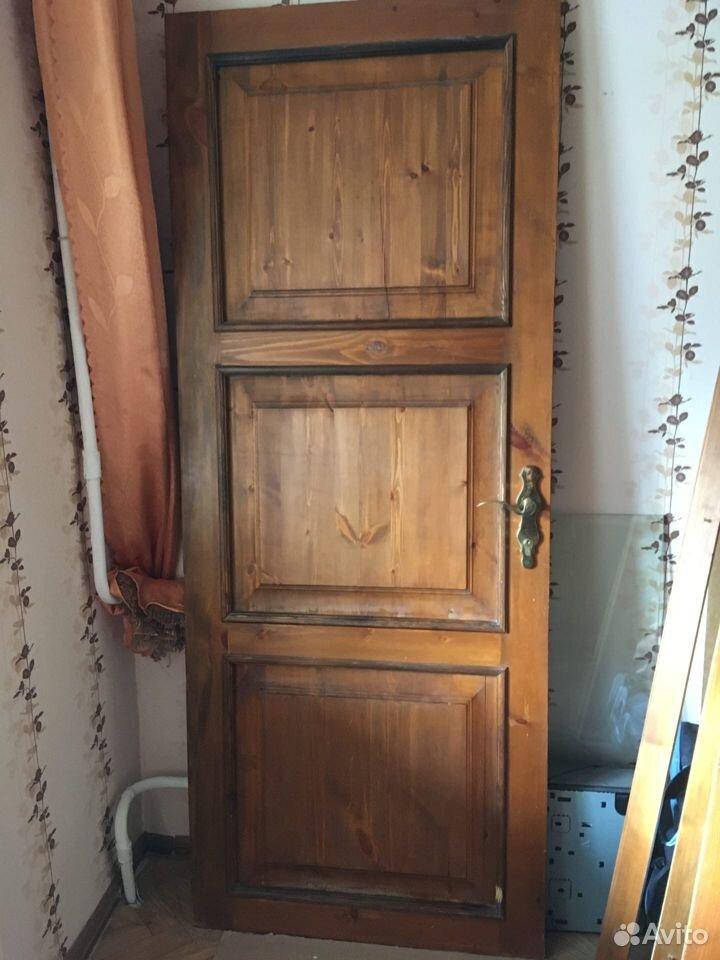 Дверь деревянная филенчатая мореная  89372752006 купить 3
