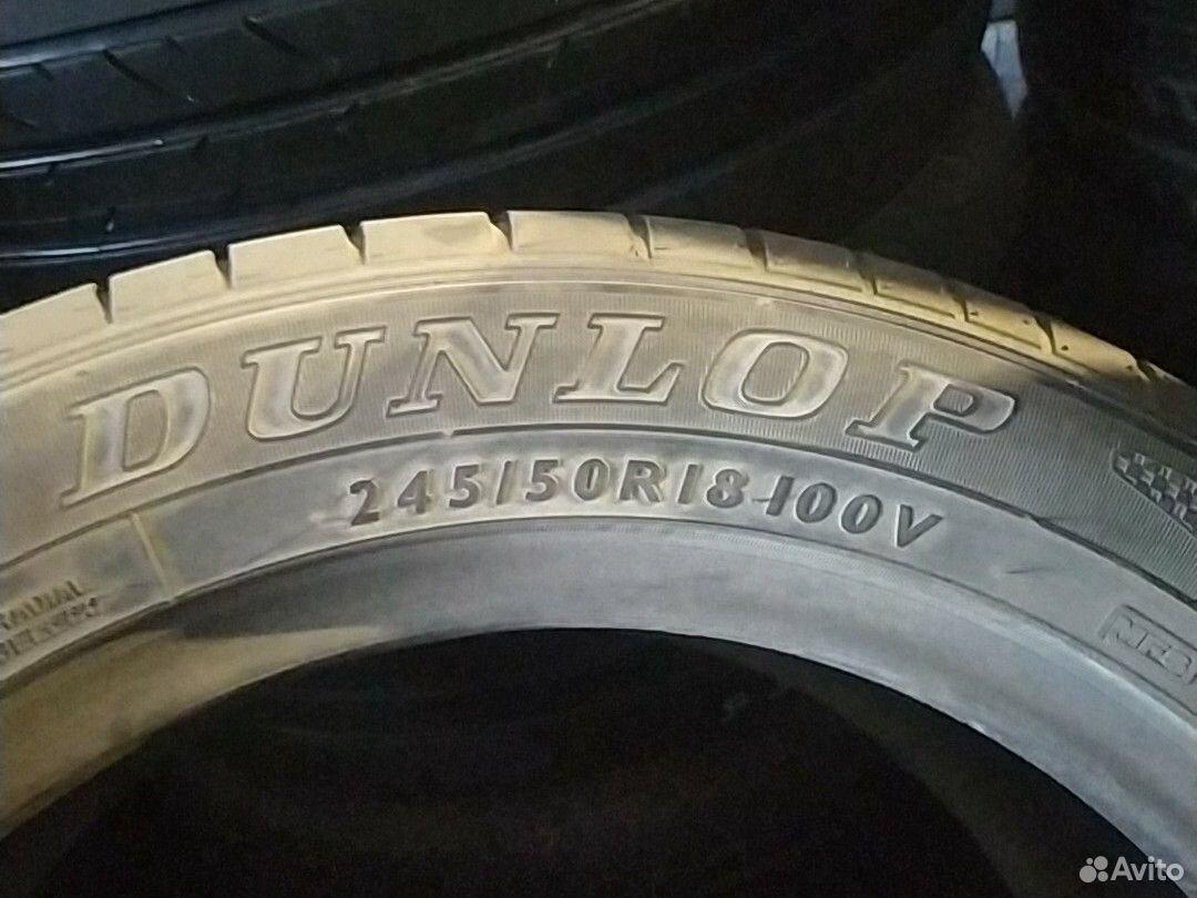 245/50/18 пара шин, Dunlop