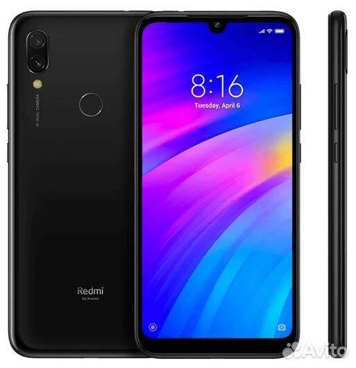 Xiaomi Redmi 7 32Gb black  89028443377 купить 3