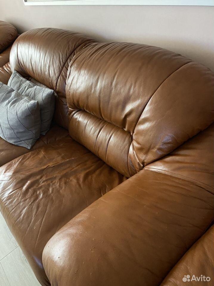 Кожаный диван  89513710728 купить 3