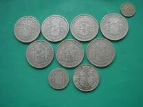 Монеты Франции и Испании, серебро