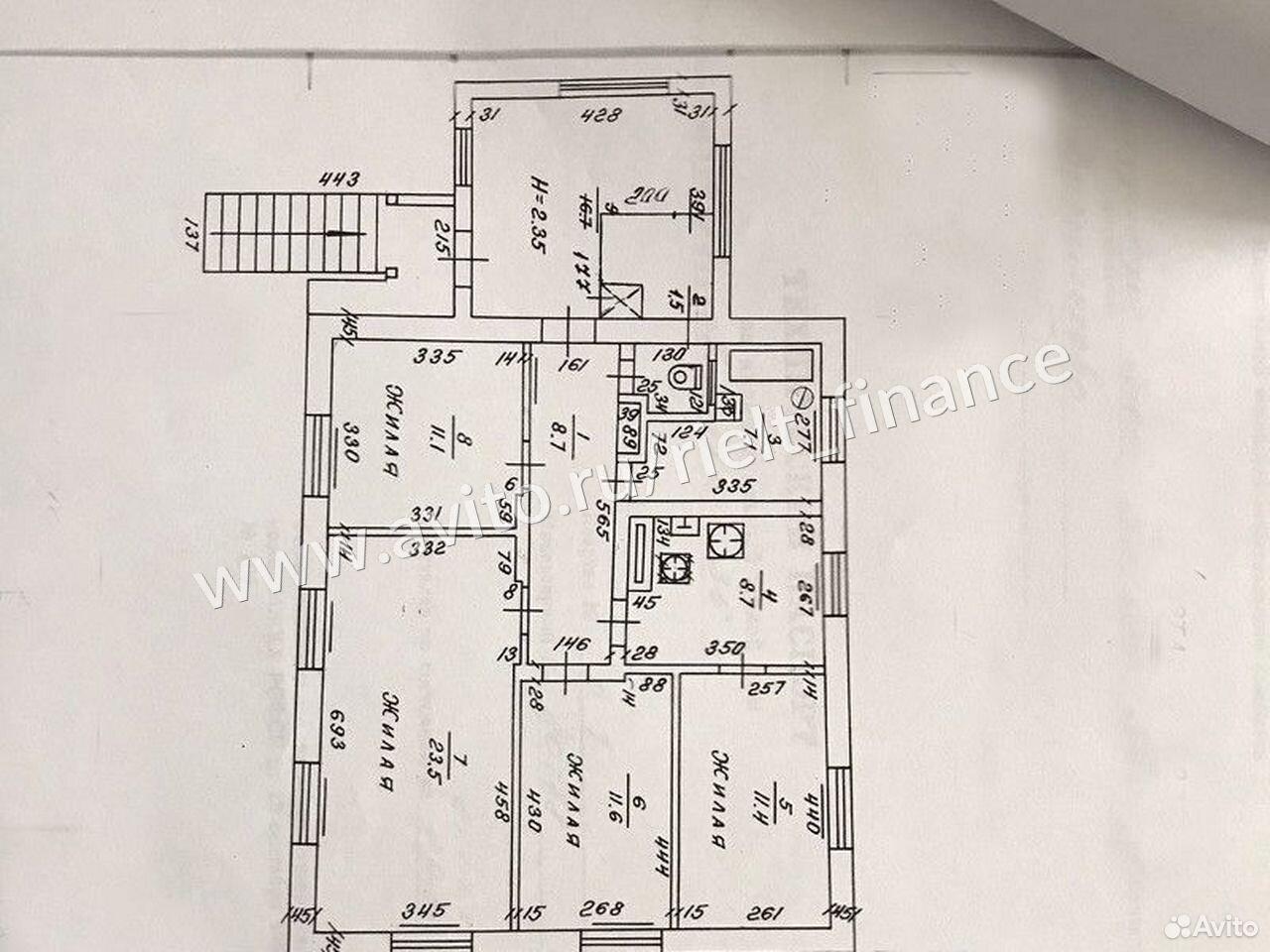 Дом 187.5 м² на участке 9 сот.  84012391298 купить 7