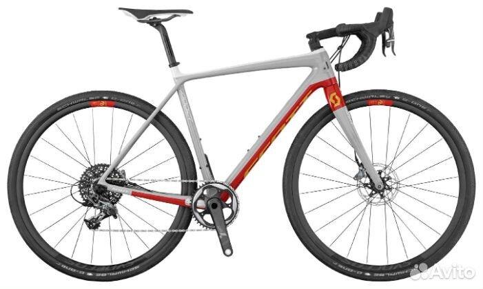 Велосипед Scott Addict Gravel 10 disc рама M/54